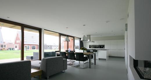 Architectuur in de kijker bijzondere woning in heerenveen - Bijvoorbeeld huis modern ...