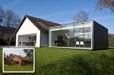 Renovatiedag uitbreiding van een bungalow in hooglede - Uitbreiding oud huis ...