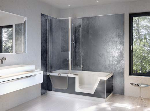 Gepersonaliseerde wandbekleding voor je badkamer - Panneaux muraux pour salle de bain ...