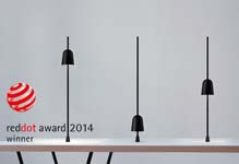 Tafellamp Ascent wint Red Dot Award 2014