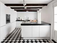 Moderne keuken in historische woning