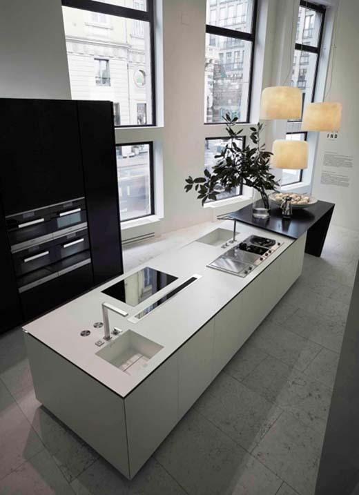 Daniel libeskind ontwerpt sharp keuken voor poliform - Keuken varenna ...