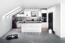 Kleine keuken net zo indrukwekkend als grote keuken - Kleine keuken amerikaanse keuken ...
