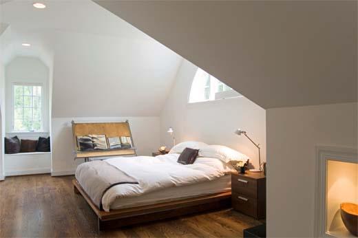 Hoe richt je je zolder in tot een sfeervolle kamer - Hoe aparte een kamer in twee ...