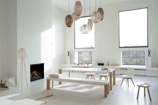 Largo wood warm hout en fluwelig glas - Hedendaagse interieurs ...