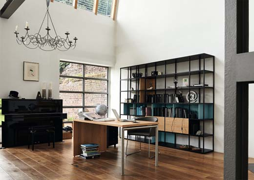 Stellingkast Voor In De Keuken: Stellingkast in de woonkamer ...
