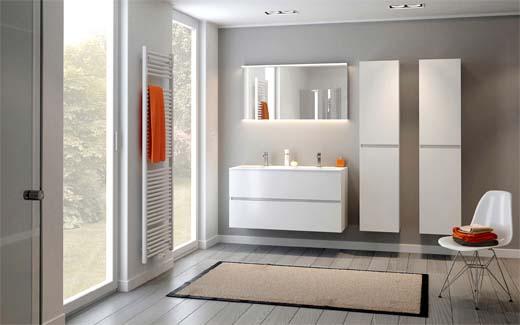 nieuwe badkamercollectie desco telt 350 combinaties - bouwenwonen, Badkamer