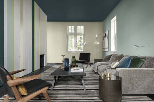 Tips voor stijlvolle donkere kleuren in je interieur for Interieur kleuren