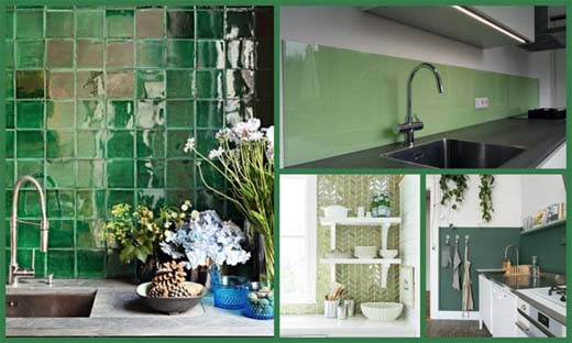 Groene Keuken Gordijnen : 5 x groene keuken bouwenwonen net