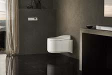 Primeur: het innovatieve Sensia Arena-douchetoilet