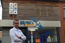 Volledig vernieuwde toonzaal voor Brabex Security in Brasschaat