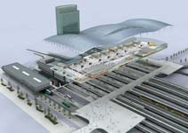 Grootste station van Nederland onder één golvend dak