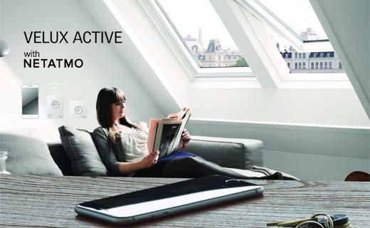 Velux Active met Netatmo zorgt voor gezond binnenklimaat