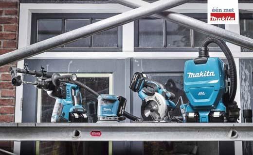 Makita introduceert vier accu stofzuigers voor maximale (stof)vrijheid