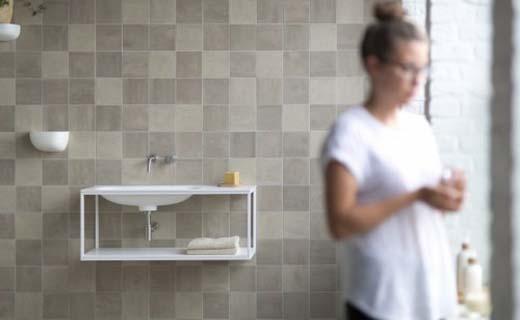 Keramische tegels bepalen sfeer badkamer