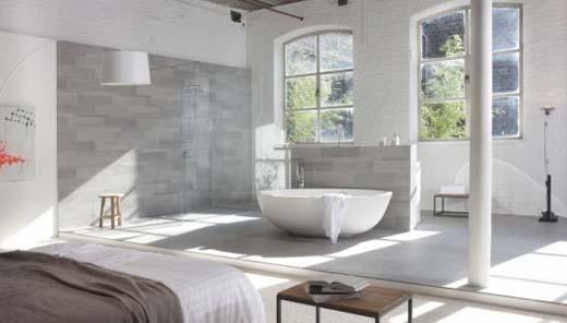 Keramische tegels bepalen sfeer badkamer - Keramische inrichting badkamer ...