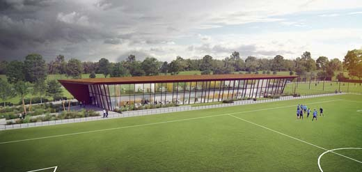 MoederscheimMoonen Architects trainingscomplex Feyenoord