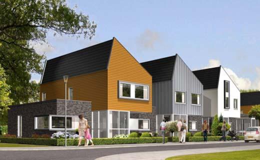 Arnhem bouwt 77 energieneutrale woningen in ecowijk De Kiem