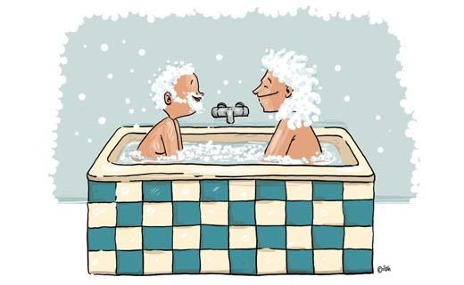 Wat gebeurt er in de Belgische badkamers?