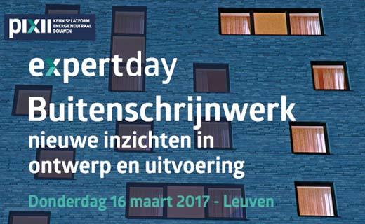 Expert day Buitenschrijnwerk: nieuwe inzichten in ontwerp en uitvoering