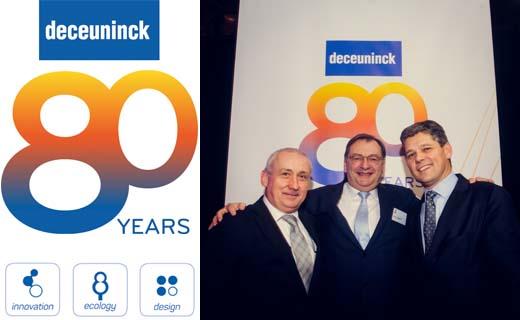 Deceuninck viert zijn 80ste verjaardag