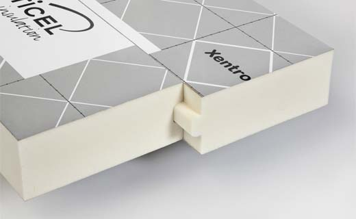 Baanbrekend isoleren met Xentro technology van Recticel Insulation