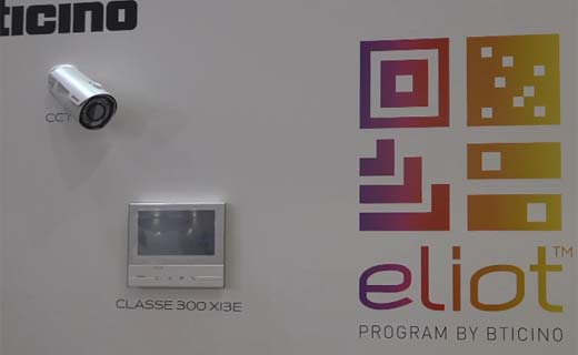 Bticino introduceert Eliot, the internet of things, op Batibouw