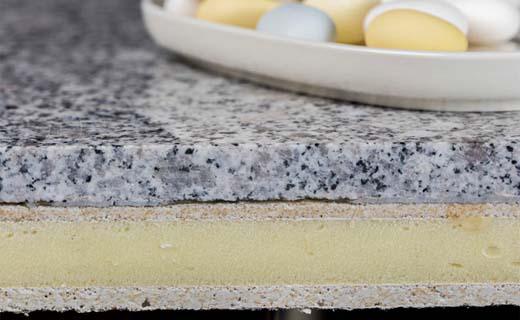 Compact Graniet is stabieler en lichter
