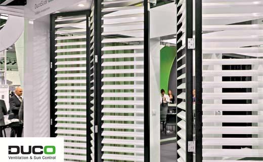 Duco zet nieuwe trend in wereld van architecturale zonwering