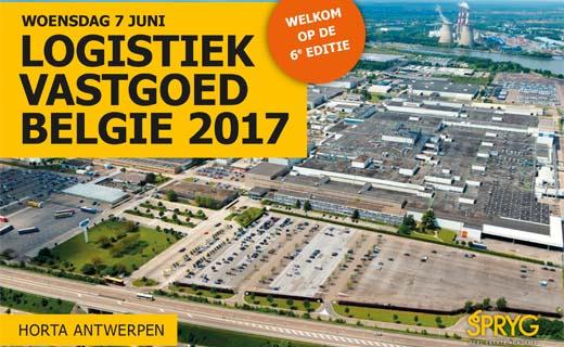 Event Logistiek Vastgoed België op 7 juni 2017