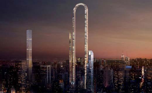 Griekse architect ontwerpt toren van 1,2 kilometer voor Manhattan
