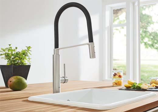Grohe Essence en Concetto Professional voor hedendaagse keukens