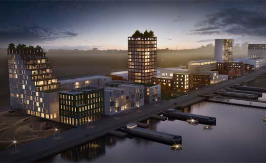 Verwarming nieuwe wijk in Gent draait op afval