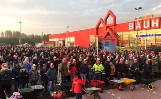 Veel belangstelling voor opening BAUHAUS Twente