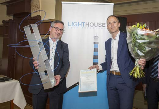 Cubicco wint Lighthouse Award 2017