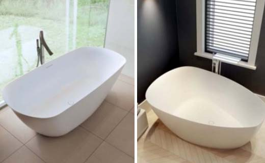 Een badkuip ontwerpen begint met een schets