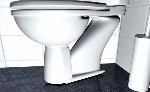 Toilet vraagt zelf om schoongemaakt te worden
