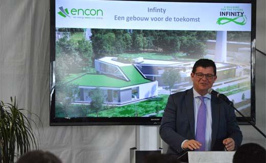 Duurzaamste kantoorgebouw van Europa binnenkort in Bilzen