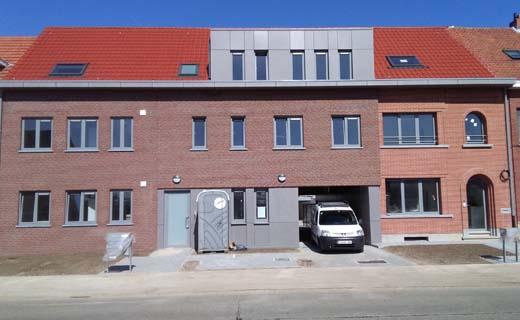 Woonproject Kapelleveldstraat in Boechout klaar