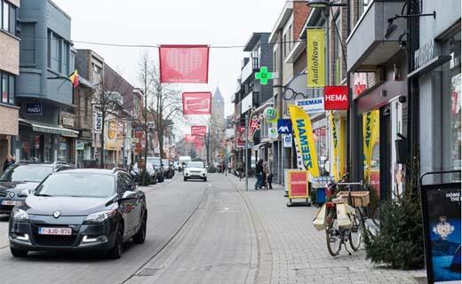 Winkeloppervlakte provincie Antwerpen blijft stabiel
