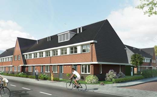 BAM Wonen geeft startsein bouw Het Koetsiershof in Sassenheim
