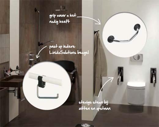 Hulpmiddelen voor het toilet
