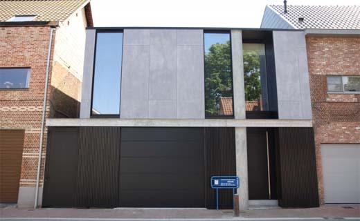 Mijn Huis Mijn Architect: Halfopen woning in Moerbeke-Waas