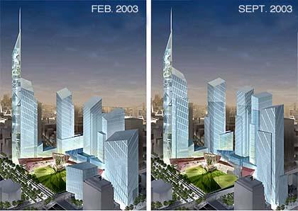 Nieuwe Ontwerpen Wtc New York City Bouwenwonen Net