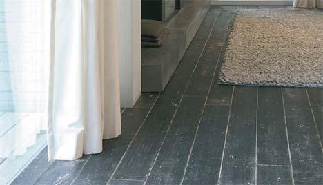 Geverfde houten vloer archidev