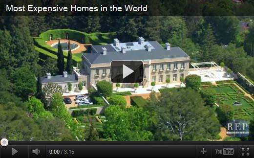 De duurste huizen ter wereld video - Het huis van de cabriolet ...
