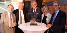 Wienerberger ontvangt `De prijs van nv De Scheepvaart`