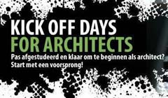 Informatieboost op Kick Off Days for Architects