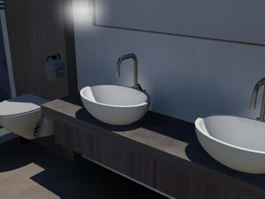 Column badkamer ontwerp trends - Kleur moderne badkamer ...