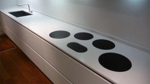 Keukenkast Met Werkblad : Gehard glas als spatwand of werkblad in de keuken bouwenwonen